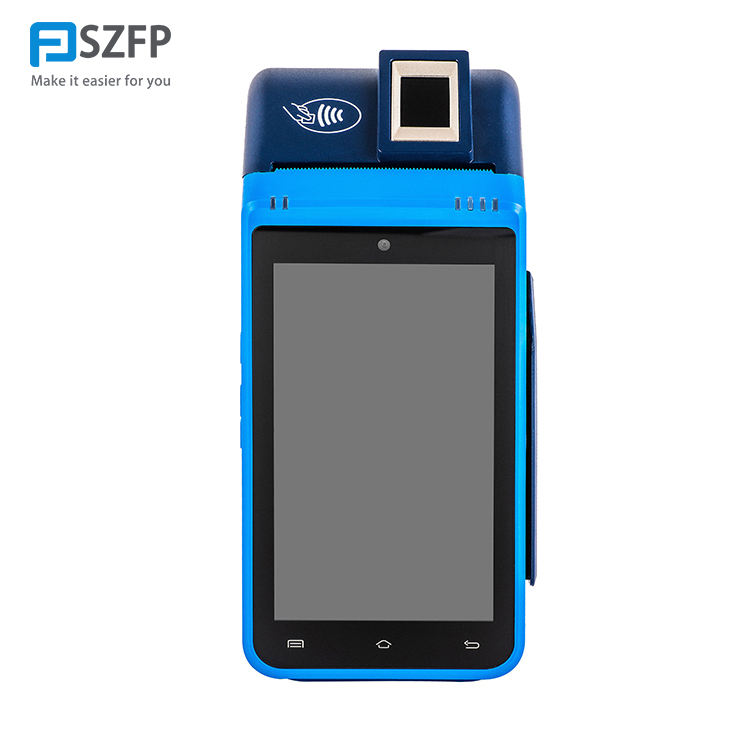FP8900 android 7.0 mobile pos terminal with 4G and FBI fingerprint