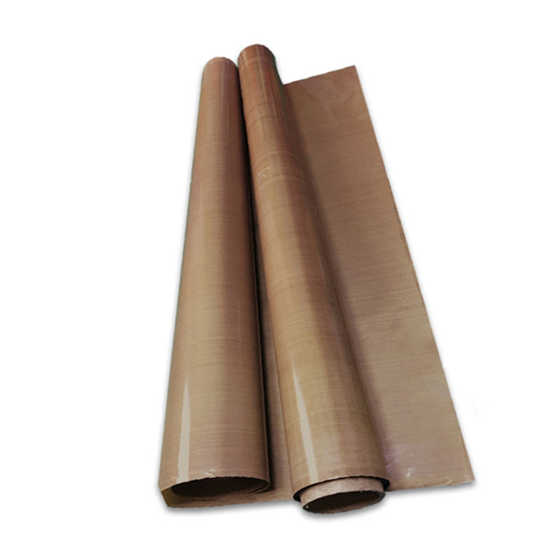 PTFE Sheet Rolls Adhesive Heat Resistant Mesh Fabric