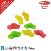Halal Candy Assorted Flavour Car Shaped Gummy