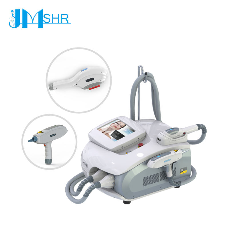 JM SHR CE Certification portable SHR IPL ND YAG combined 2in1 machine