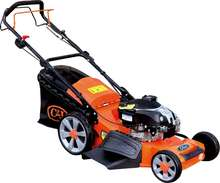 21inch 4in1 self propelled gasoline lawn mower CJ21G4IN1B775IS - AL with aluminum chassis mower and BS engine one key start