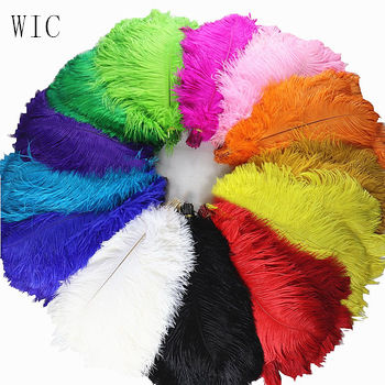 30-35cm Decoration Synthetic Ostrich Feathers for Wedding Bouquet