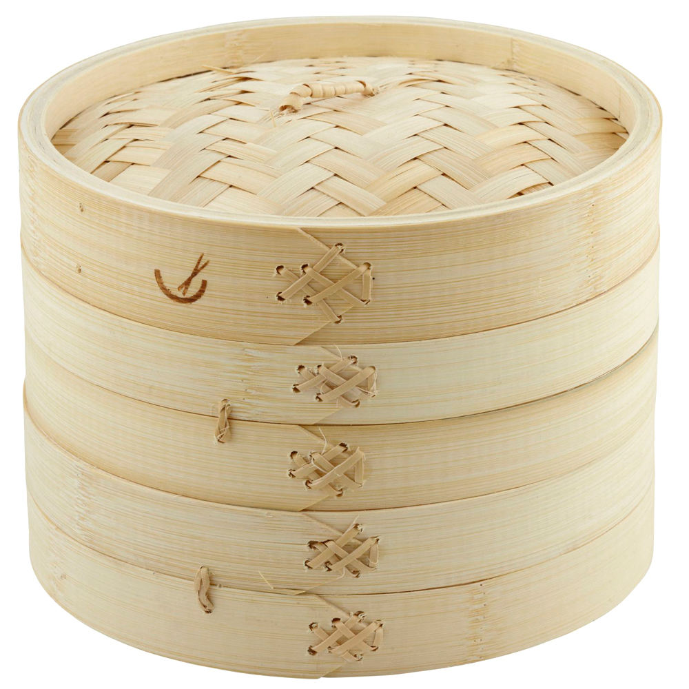 Factory price wholesale 10 inch bamboo steamer