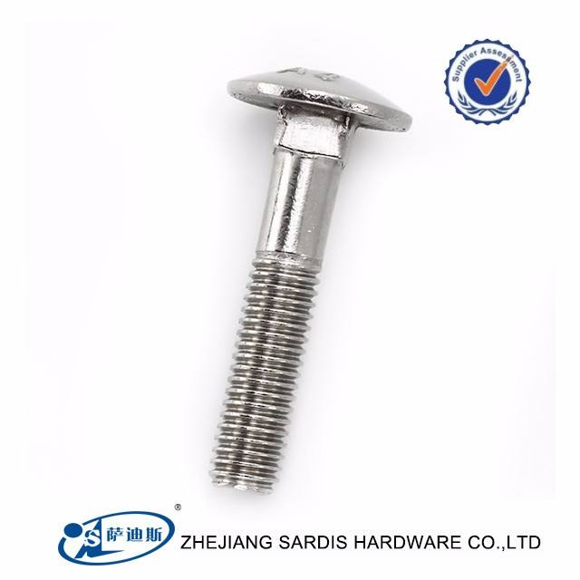 Fastenal catalogus bolt en noten rvs Din603 carriage bolt China Schroef
