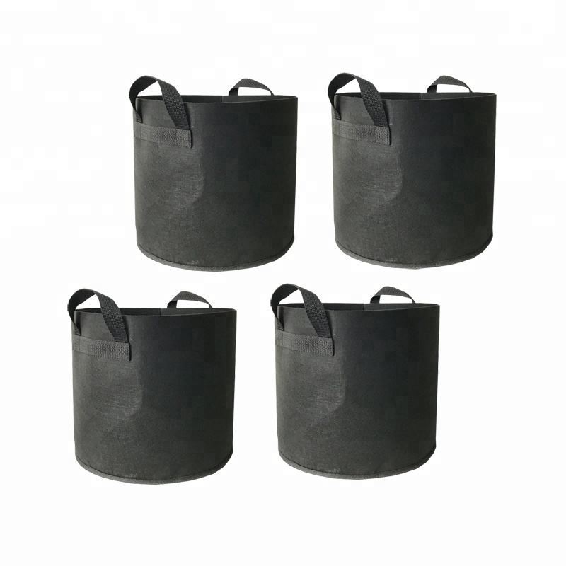 Eco-friendly felt plant fruit growting greenhouse grow pot bag