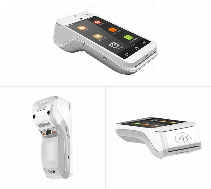RFID EMV POS Systemen Pax A920 Android POS Terminal met 4g LTE WIFI Bluetooth 2D 1D Barcode Scanner Printer en Camera