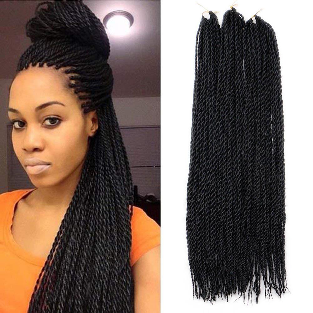 Twist Crochet Braids Hair Synthetic