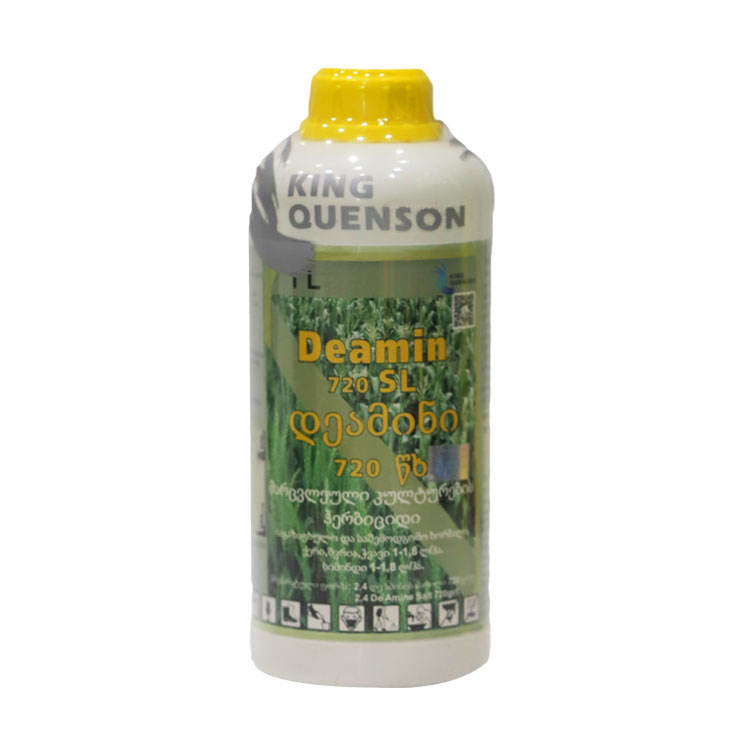 King Quenson Customized Label 2 4 D 72% SL 860 g/L Amine Salt For Weed Control