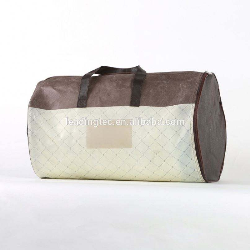 plastic pillow carrier bag plastic and nonwoven material soft beddings pillow packing bag