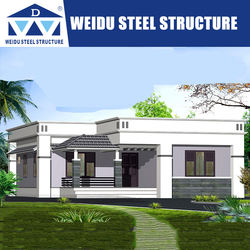 Modern Hot Light Steel House Modular Like Prefab House