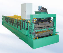 820mm Colored Steel Metal Roof and Wall Panel Double Layer Roll Forming Machine line for Sales
