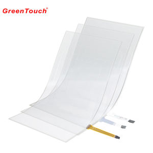 Flexible lcd touch screen 4 draht 15 zoll resistiven touch film touch bildschirm folie