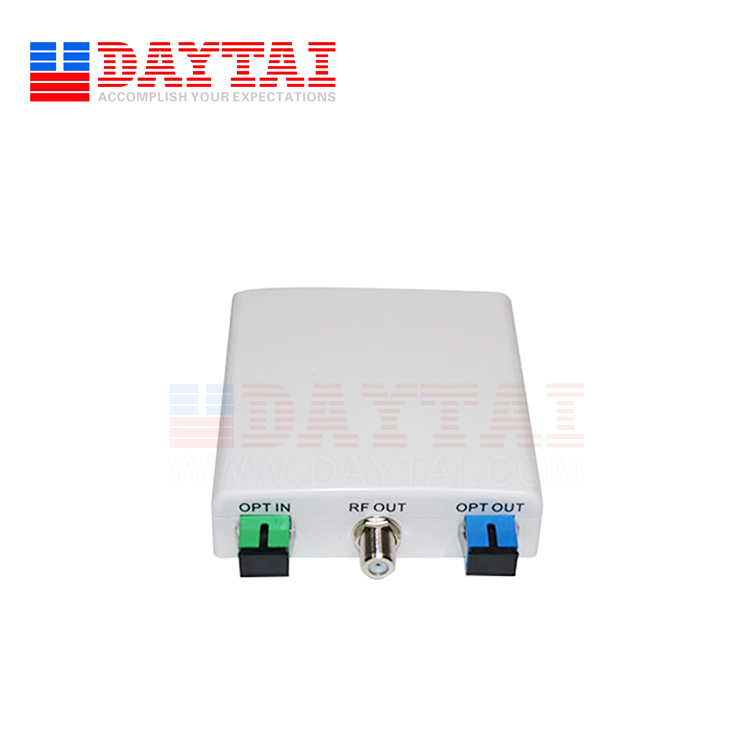 CATV PON Passive FTTH WDM Optical Node Receiver