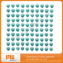 High-quality acrylic sticker belly button crystal stickers