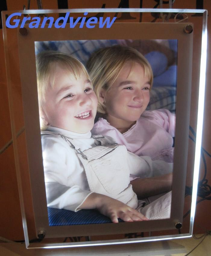 Acrylic photo frame led light sign