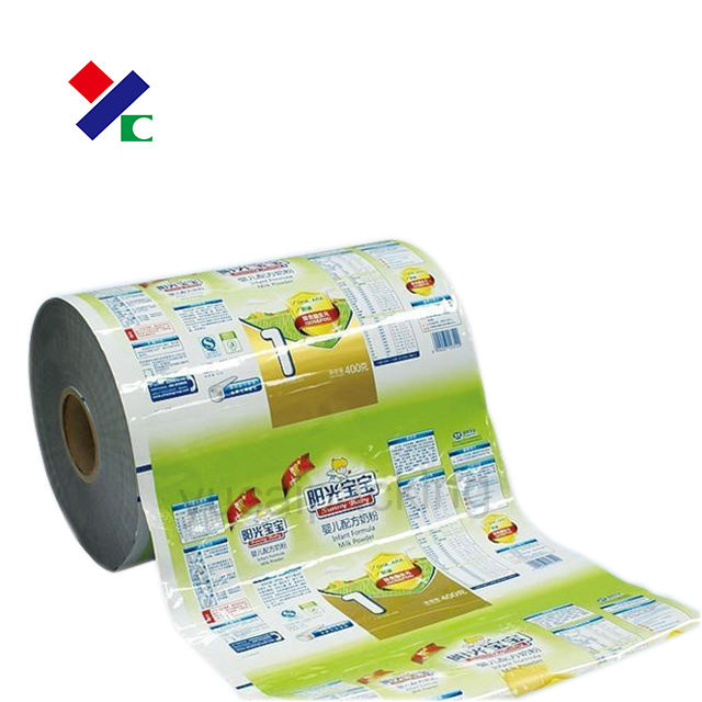 Food packaging pack plastic roll film/flexible packaging material/plastic packaging material supplier