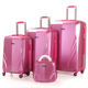 high quality Luggage bag, airplane trolley case smart suitcase ABS PC travel luggage