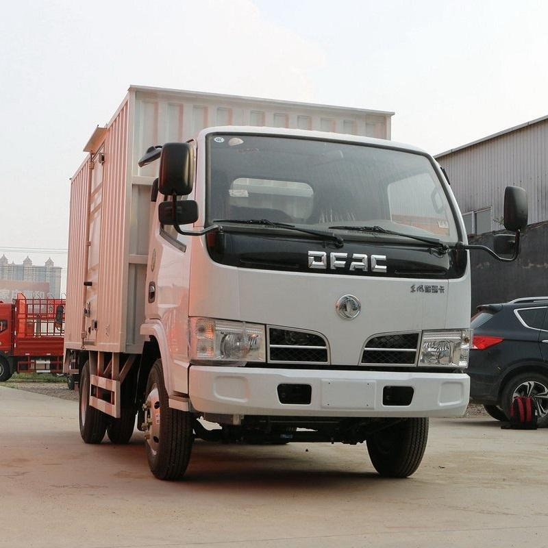 Cheap price left and right hand drive 3.5 tons DONGFENG cargo truck van