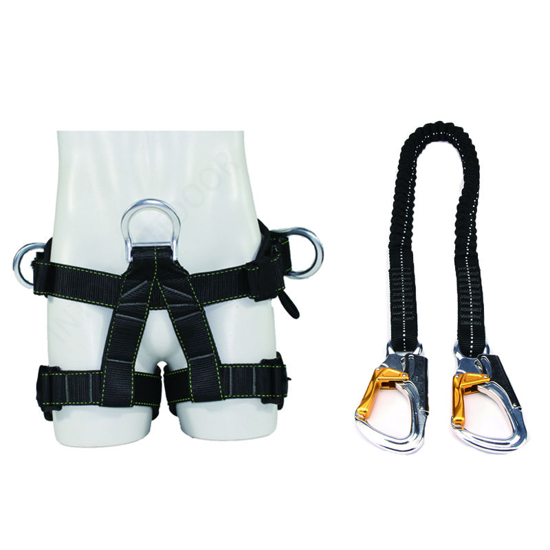 The newest rock climbing harness for sales polyester tree with high quality