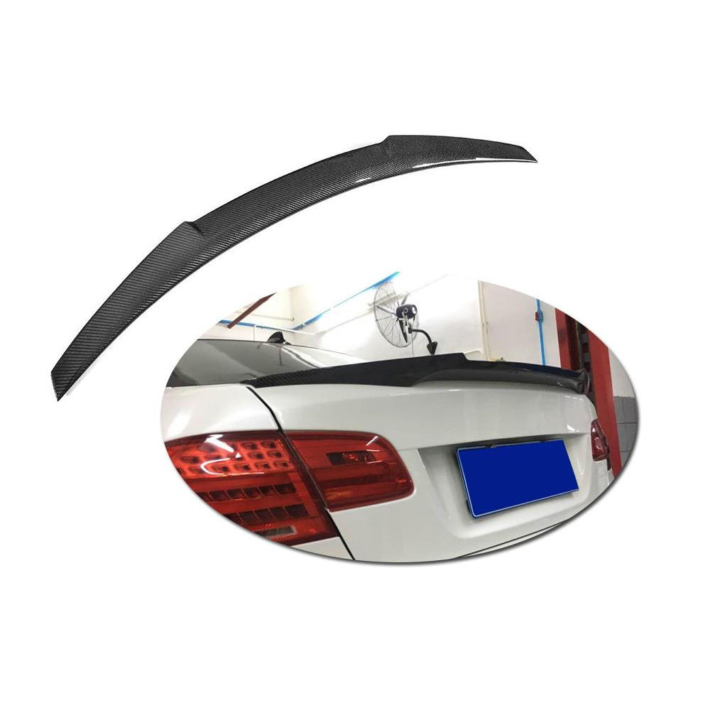 For BMW E92 Coupe 328i 335i M3 Carbon Rear Wing Trunk Lip Spoiler 06-12