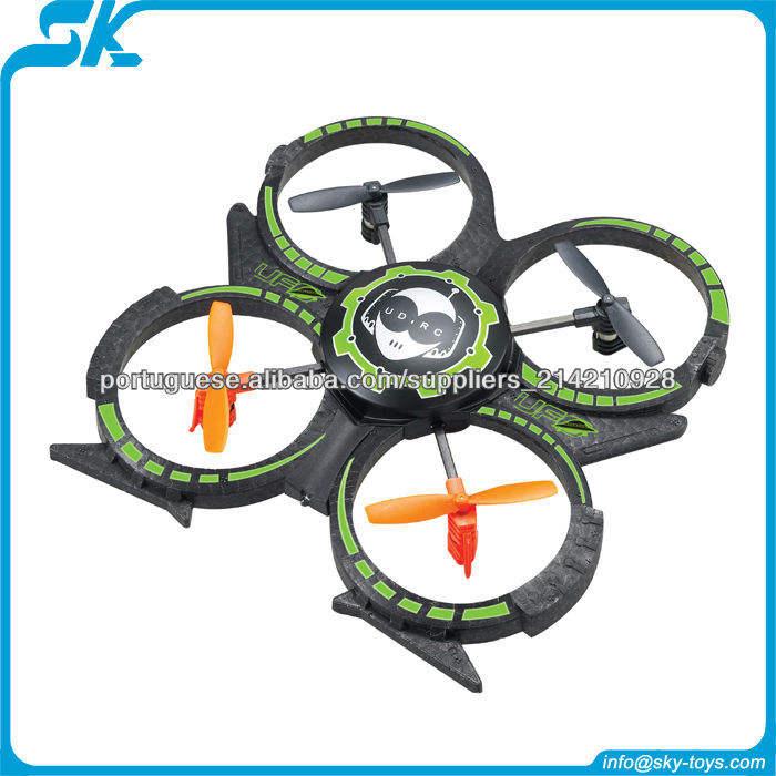 Udi atualização de versão u816a 4ch 2.4 ghz 3d 4- eixo helicóptero rc construído- em giroscópio quadcopter ufo rádio controlado