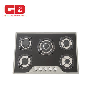 Hot Sale 5 Burner With CE Portable Gas Cooker/Noble stoves made in china