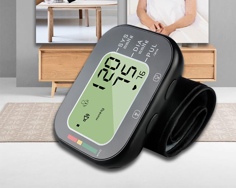 high quality digital automatic wrist blood pressure monitor blood test machine blood pressure monitor with bluetooth