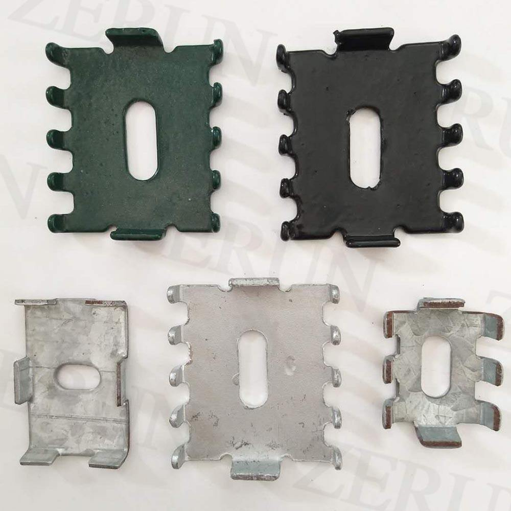 Direct factory hot sale powder coated galvanized fence clips