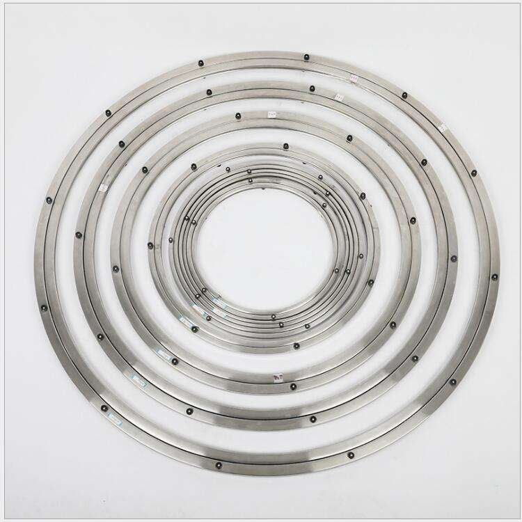 24 inch 600mm ball bearing swivel lazy susan metal ring supplier AS-76