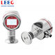 4-20mA diaphragm sealed pressure transmitters with digital display