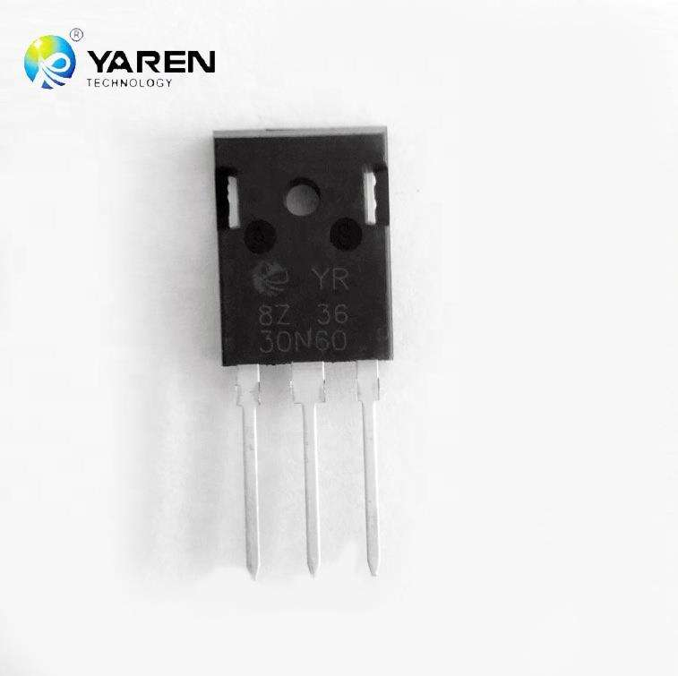 ТРАНЗИСТОР 30N60 To-247 600V 30A N-Channel Trench Power Mosfet
