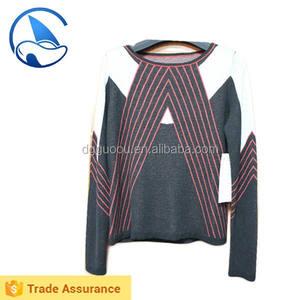 Fresco niñas diseño especial de la raya Woodland suéter