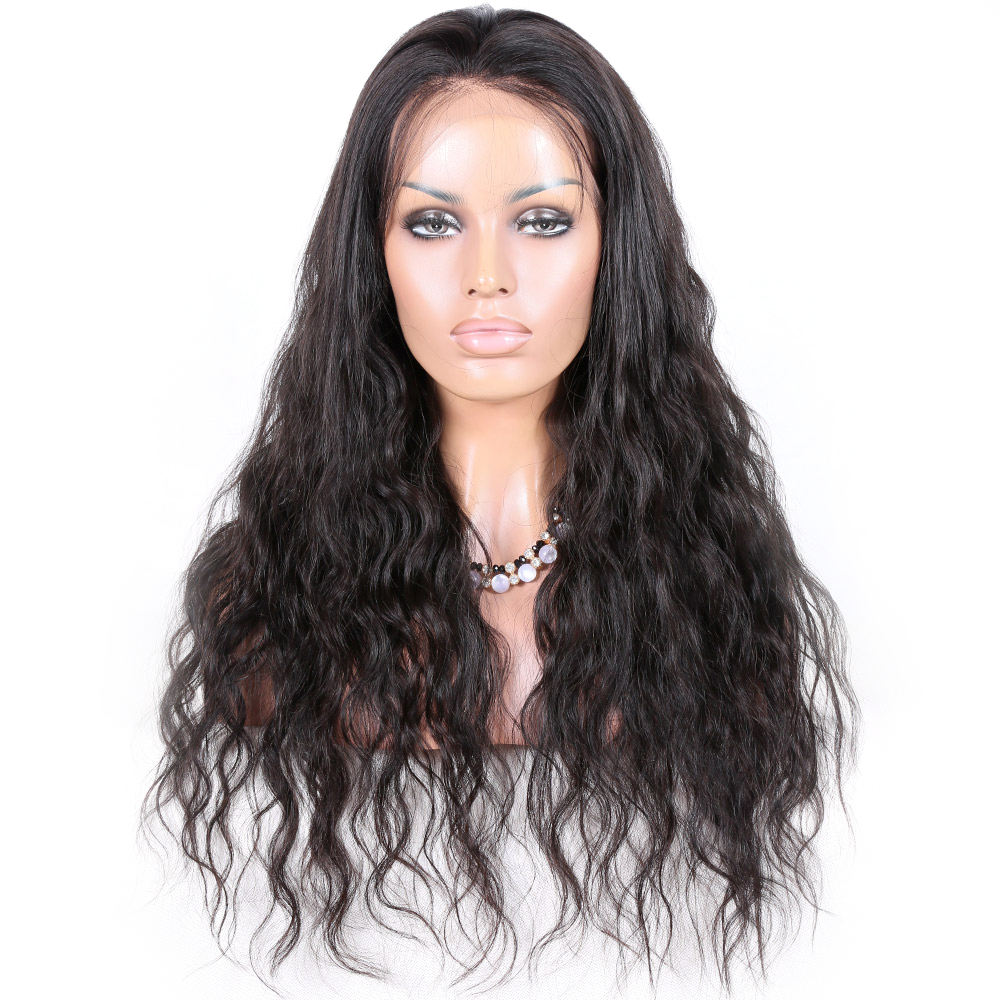 premier lace wigs loose wave brazilian remy human hair 0.12 hard lace human hair wig
