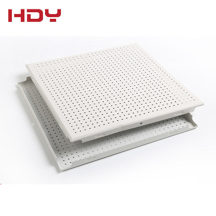 Aluminum Perforated Metal Frame Suspended Ceiling