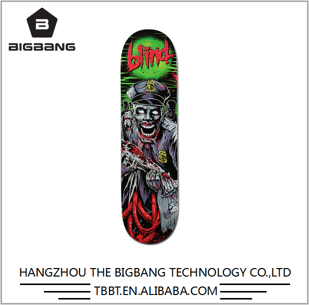 Bigbang Oskate hard rock maple skateboard deck china wholesale