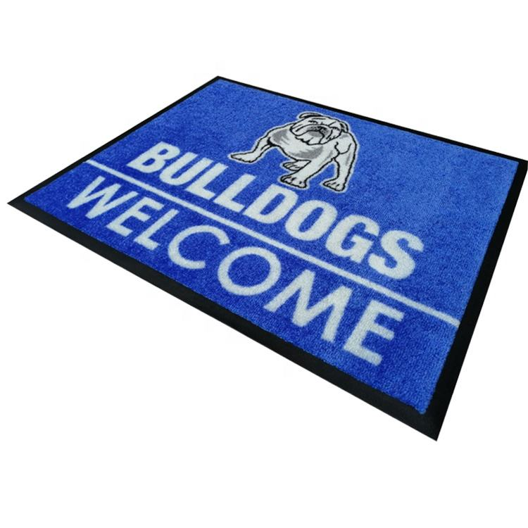 Custom printed Indoor Commercial Industrial Heavy-Duty carpet Floor Mat
