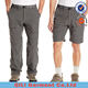 Cotton polyester casual mens two pieces cargo pants with side pockets