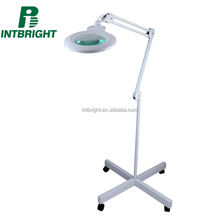 Medical equipment magnifier lamp factory new design repair tool led dental lamp with stand floor