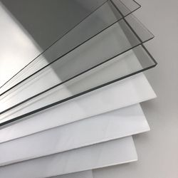 1mm 2mm 3mm pet sheets board instead of pc board Polycarbonate petg sheets and products ( Certified manufacturer by SGS )
