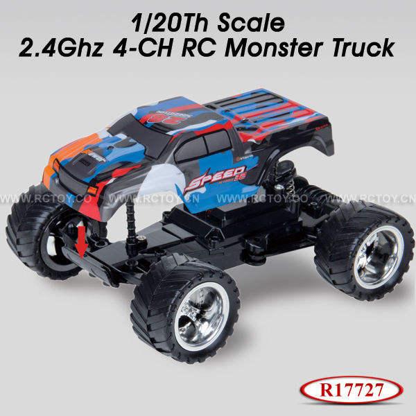 1:20 <span class=keywords><strong>масштаба</strong></span> 2.4g 4ch грузовика монстра удаленного управления автомобилем
