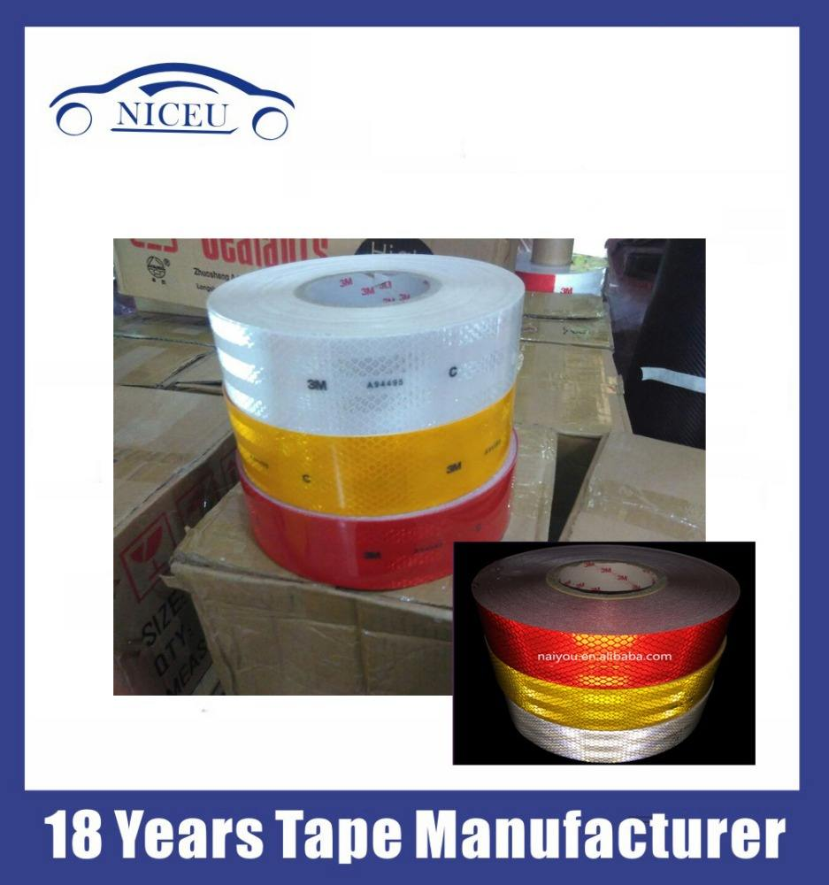 3M A94495 C Reflective Tape Red , Yellow , White reflecting stickers with good market in India