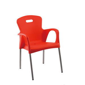 Morden outdoor furniture vip plastic chair round back plastic chairs for sale