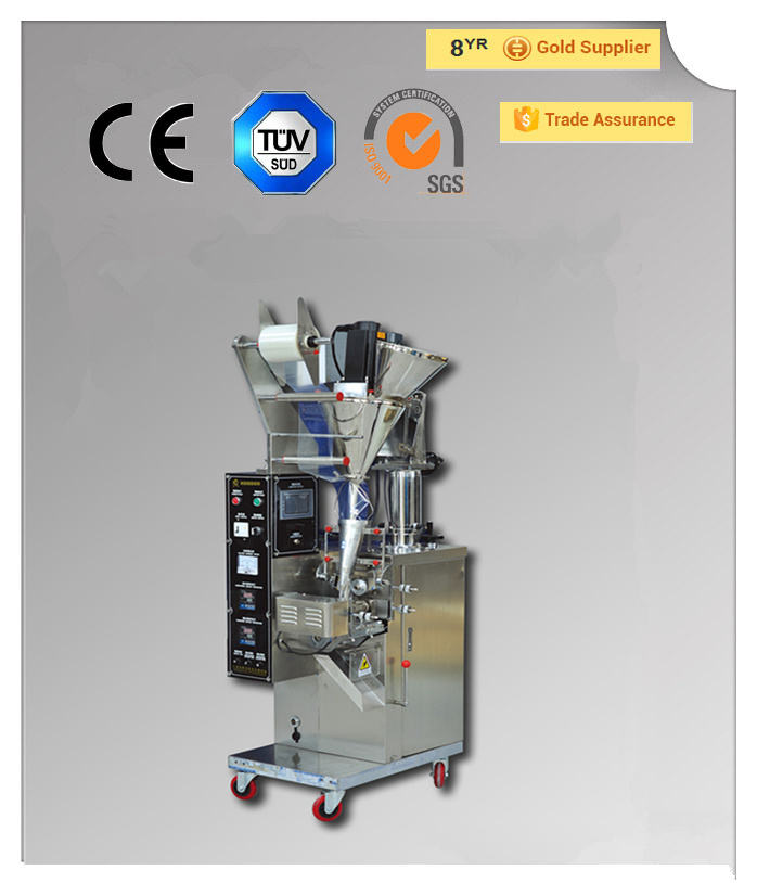 automatic small probiotics powder sachetl bag filling packaging machinery (QPI-SFF-160II)