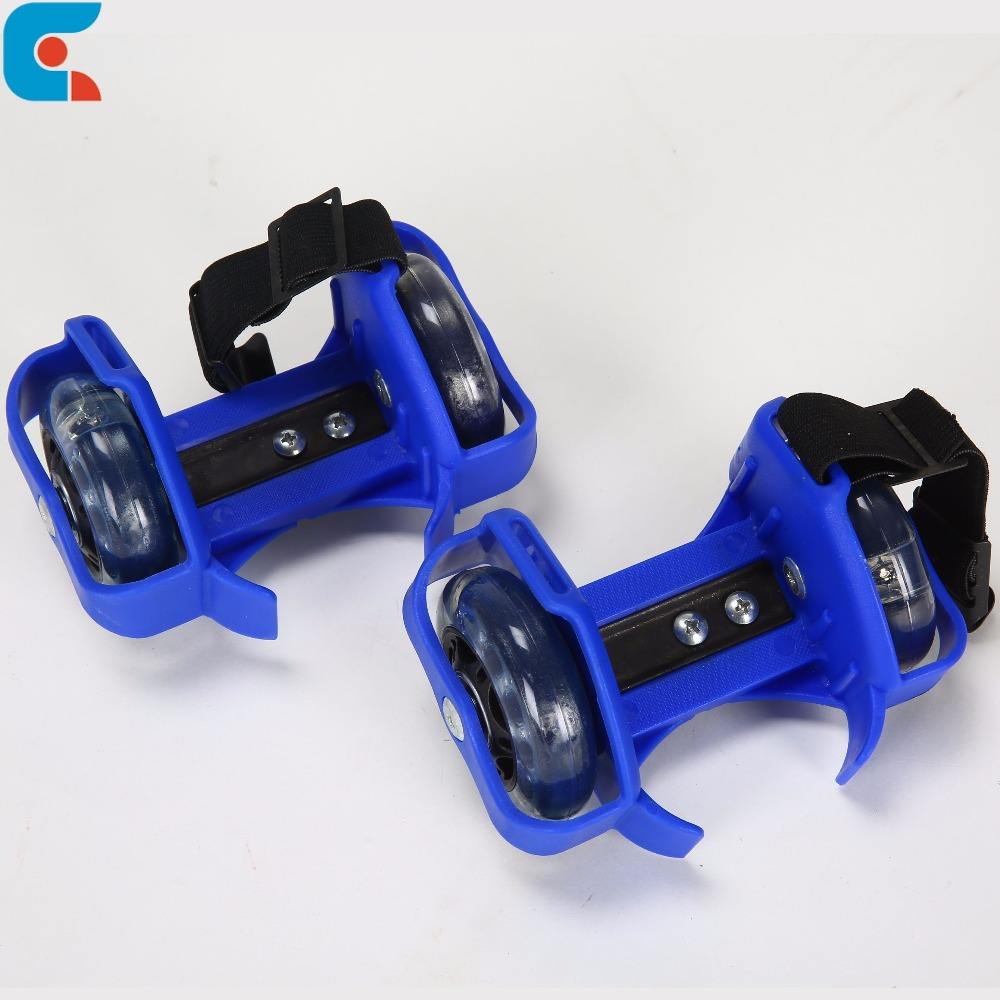 Wholesale Heel Glider Street Flashing Roller Skate LED Shoes with Good Quality Low Price