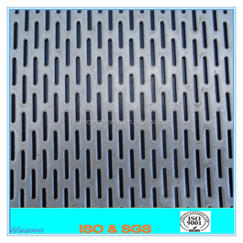 stainless steel punching hole mesh /perforated metal screen sheet
