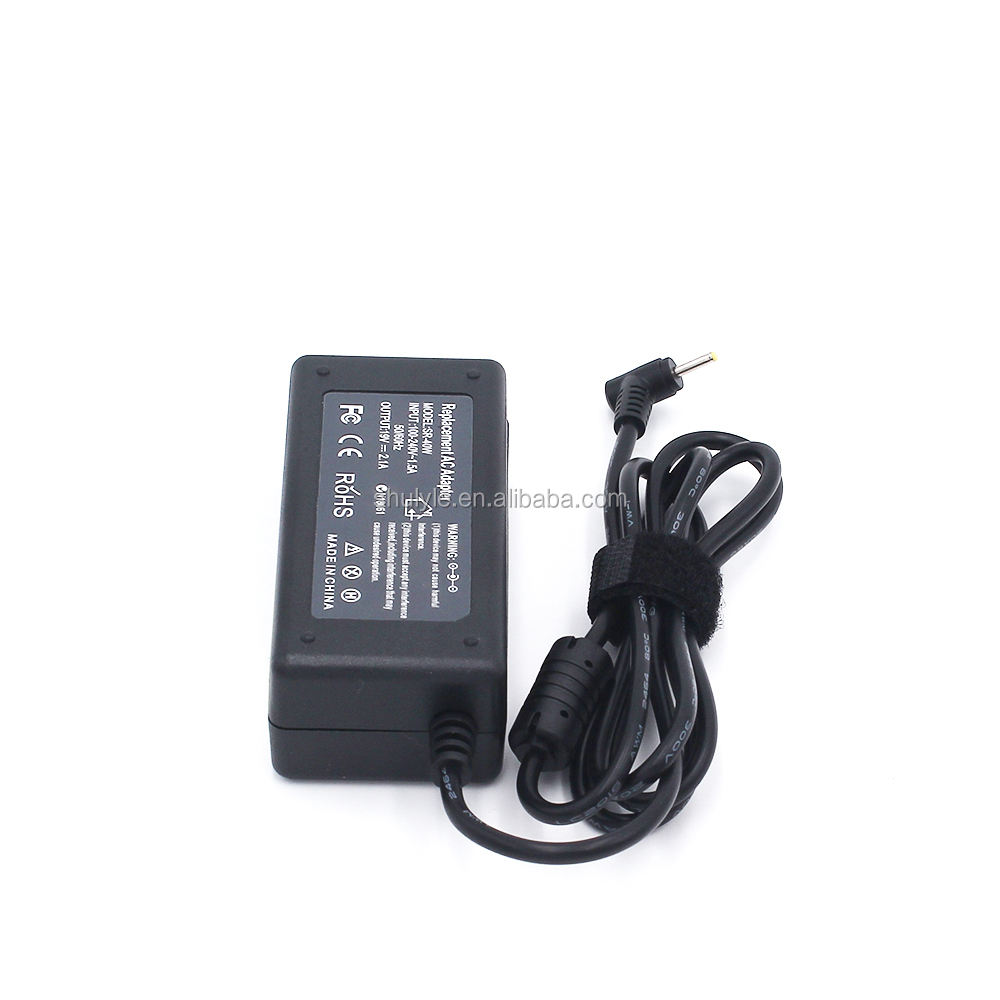 Notebook Komputer Adaptor 19 V 2.1A Laptop Charger 100 240 V 50 60 HZ Laptop AC Adapter Untuk Asus