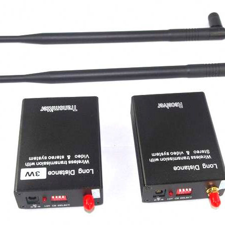 Small 2.4 ghz Wireless Video Transmitter and Receiver For CCTV Surveillance