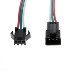 JST SM 3 Pins/head Male to Female Plug/Wire Quick Connector