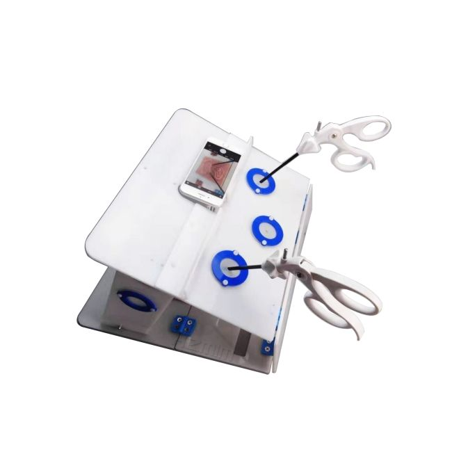 Laparoscopic Trainer Box/Simulator for Laparoscopic Training, Pelvitrainer
