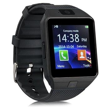 High Quality DZ09 Sport Blue Tooth Clock Wrist Phone Watch For Android For IOS Which Is Accepted OEM Service